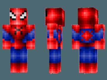 Майнкрафт скины человека паука
