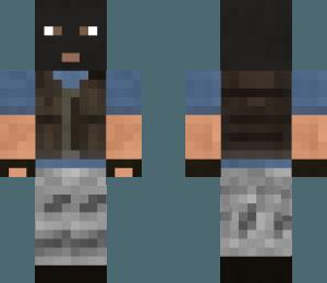 Скин террориста для Minecraft