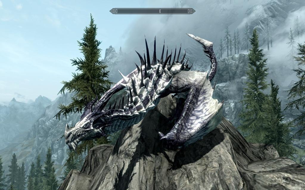 скачать мод в скайрим превращение в дракона бесплатно - фото 6