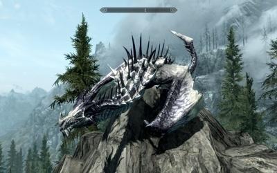 Мод превращение в дракона в Skyrim