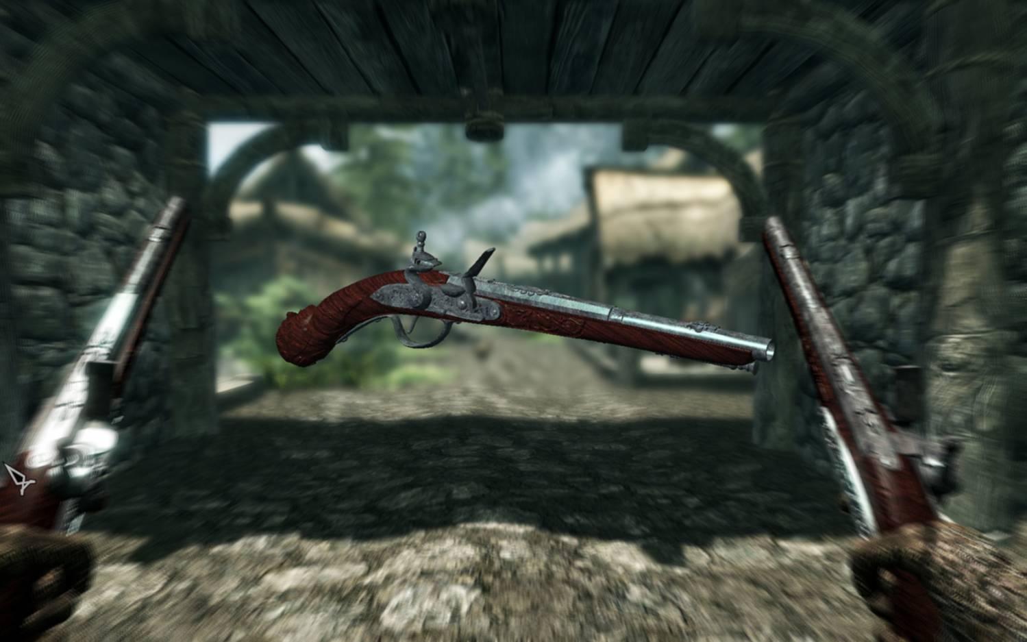 Мод на огнестрельное оружие для Skyrim