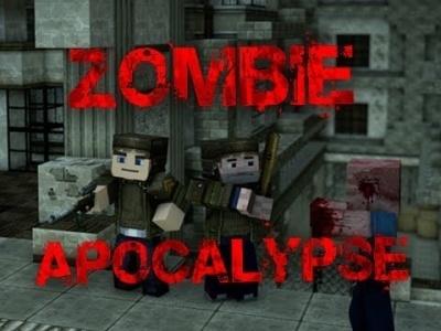 Зомби апокалипсис карта для Minecraft