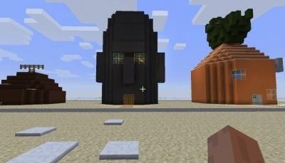 Карта Спанч Боб для Minecraft