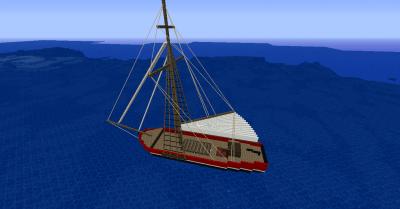 Майнкрафт мод на корабли 1.9 1.8 1.8.9 ...
