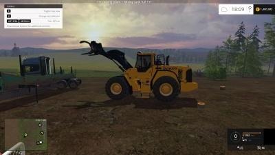 Мод погрузчик для Farming Simulator 2015