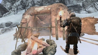 Мод Frostfall для Skyrim