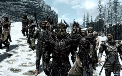Мод на гильдию для Skyrim