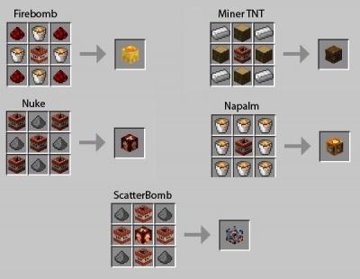 Мод на динамит для Minecraft 1.12 1.11.1 1.11 1.10 1.9