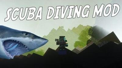 Мод Deep Sea Diving для Minecraft 1.15 1.13 1.12.2 1.10.2 1.9.4