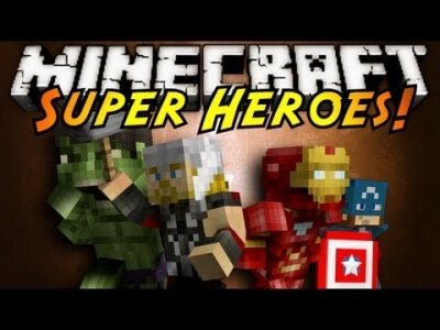 Мод Super Heroes для Minecraft 1.15 1.14.4 1.14 1.13.2 1.12.2