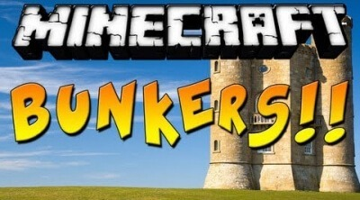 Мод Bunker Mod для Minecraft 1.12.2 1.11.2 1.11 1.11 1.8.9