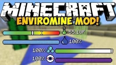 ��� EnviroMine ��� Minecraft 1.9 1.8 1.8.9 1.7.10 1.6.4