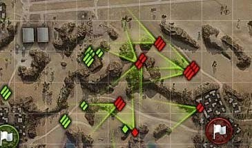Подсказки на мини-карте для World of Tanks 9.17.1